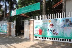 Entrance to La Petite Ecole